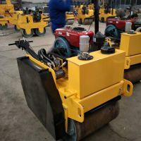 福建省直供小型压路机 600型双轮压路机 回填土压实机