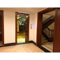 钛金镜面蚀刻豪华版--上海三菱家用别墅乘客电梯