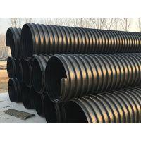 厂家直销力达PE钢带管 钢带增强波纹管 螺旋波纹管 黑色排水排污管