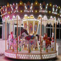 郑州格林游乐专业生产转马 豪华转马 漂亮好玩的游乐设备