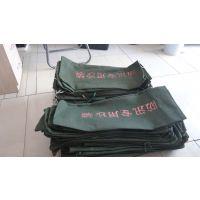 华龙盛宇北京同城批发帆布防汛沙袋防洪防水可包装沙子