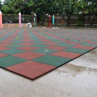 上海 学校跑道户外安全防滑橡胶地垫 幼儿园橡胶地板健身房
