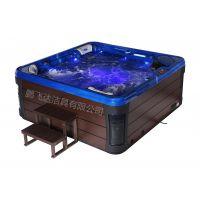 厂家直销 SPA户外按摩浴缸 亚克力冲浪按摩浴缸 大型按摩泳池 热销产品