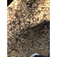 供应天然水松软木布革卷材花纹软木革鞋材包包人造革真木皮橡树皮