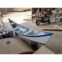 定制木船 欧式装饰手划船 景观园林装饰亮化船