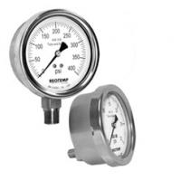 PR系列-工业全焊接 不锈钢表 304不锈钢 REOTEMP压力表 原装进口压力表批发