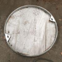 耀恒 圆形不锈钢井盖厂家批发 DN700为什么井盖是圆形