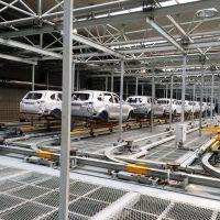 汽车涂装摩擦线 汽车整车涂装车间地面输送摩擦线设备