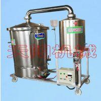 蒸汽导热酿酒设备,双底不焦锅蒸酒机