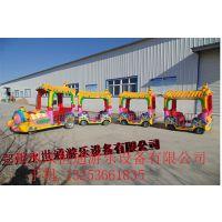大型儿童电动游乐设备游乐观览无轨火车儿童观光车