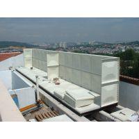 武城科能水箱厂家供应易清洗隔板玻璃钢水箱安装方便