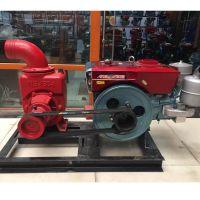 2寸汽动柴油水泵 自吸泵 抽水泵 柴油机水泵机组