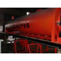 大同制作机制木炭的设备-润合节能连续式炭化炉