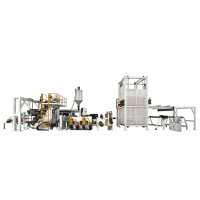 TPO+PP发泡复合片材生产线