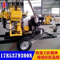 XYX-200拖车式液压岩心钻机质保期长地质深孔钻机高效