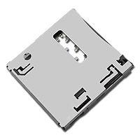 东莞 SOFNG SIM-014 尺寸:15.98mm*15.5mm*1.35mm SIM卡连接器