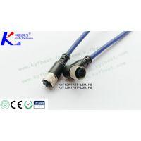 M12防水LED路灯连接器 大功率太阳能专用防水接插件