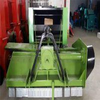 定制液压打包机 玉米秸秆捡拾机 四轮农拖带动牧草饲料粉碎打捆机