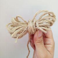 厂家爆款DIY麻线细麻绳 手工装饰编织绳吊牌复古捆绑绳定制批发