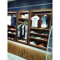 厦门男装展示柜 工厂材质的选择,档次与价格的区分,男装店装修柜台定做