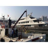 船用起重机价格 3吨船吊可定做 船用固定吊价格 操作视频