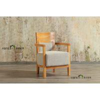 简约实木餐桌椅定制 上海韩尔家具厂供应