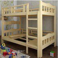 成都实木公寓床结实耐用上下床寝室员工床厂家直销