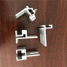 铝合金石材背栓挂件 铝合金耳型挂件 c型铝挂件 幕墙配件厂家