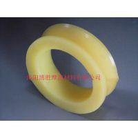 博胜厂家直销矿用聚氨酯橡胶制品---猴车轮衬 皮带机轮衬 量大优惠
