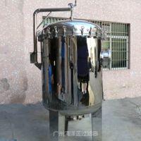 厂家供应汕尾市水处理设备专用保安过滤器 快装法兰精密过滤器批