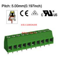 MB310-500全新原装DECA进联间距5.0绿色PCB接线欧规端子