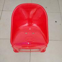 佛山尚溢生产490多色靠背塑料凳 加强型PE料塑料凳子儿童创意靠背椅 全国批发