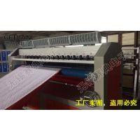源头厂家赛典力荐1800幅宽缝绽机 大面积皮革压花机 复合压纹机