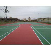广西丙烯酸材料 蓝球场施工 网球场地面材料