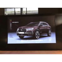 深圳4S汽车店 DS汽车LED显示屏 彩能光电P3室内全彩屏