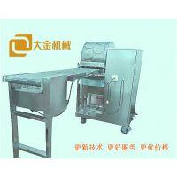 河南知名春卷皮机生产厂家 大金机械新一代仿手工多功能春卷皮机上市