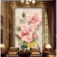 山西艺术玻璃背景印刷机 4D玻璃背景墙打印机 UV平板打印机厂家