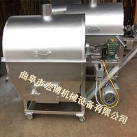 电加热炒货机 大豆炒货机 花生菜籽炒锅机