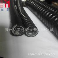 JXB型阻燃棉线 包塑软管 棉线管 平包塑金属软管φ15