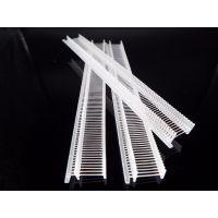 厂家华供联塑料环保数码家电包装细工字胶针5mm-12mm透明尺寸可定制