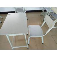 学生课桌椅厂家批发KZY002单人课桌椅*固定式课桌椅厂家定做