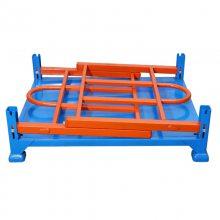 运输途中能有效保护货物不受损坏的折叠式承重1000KG堆垛架