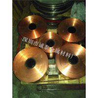 镀镍镀锡电镀紫铜带批发 C1100软态红铜带现货1.0mm 量大从优