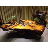 老挝花梨天然整体树根茶台大型根雕茶几实木茶桌客厅茶海茶具茶道红木家具金丝楠木黄金樟17091702