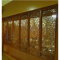 KTV屏风铝窗花-KTV室内专用铝窗花-铝窗花供应厂家