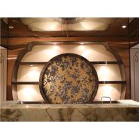 定制安装304彩色不锈钢酒店吧台 彩色不锈钢展示柜