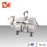 原装进口超静音感应式马达空压机 IC150小型无油静音空压机 彼迪供