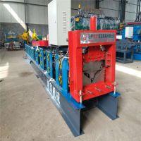 地鑫出口彩钢脊瓦加工设备 屋脊瓦压瓦机 定制脊瓦设备