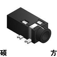 东莞市硕方电子科技有限公司 2.5/3.5耳机插座PJ-218 外形尺寸:11.6mm*5.0mm