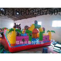 甘肃金昌充气城堡充气跳跳床专业制造十年老厂家